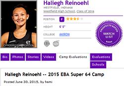 Haliegh Reinoehl 250