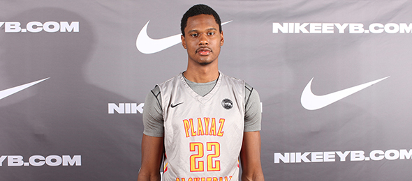 Class of 2016 forward Taurean Thompson of Jersey City, N.J., is a high school season stock-riser. See more on his game on his #BCSReport Player Card. Photo cred - Jon Lopez/Nike