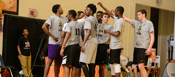 The #EBATop40 provided players from the state of Georgia and beyond with valuable exposure and development opportunities. Photo cred - Ty Freeman