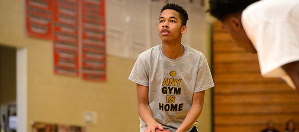 See what Chase Roberts of Snellville, Ga., did at the #EBATop40 Camp. Photo cred - Ty Freeman