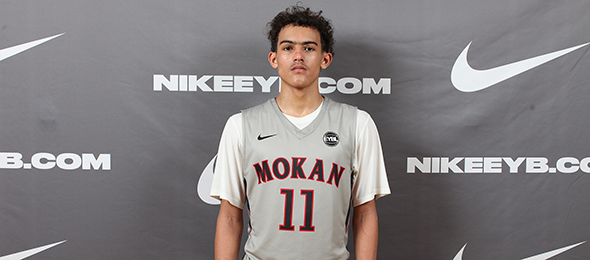 Class of 2017 point guard Trae Young of Norman, Okla., is one of the most coveted prospects nationally. Read why on his #BCSReport Player Card. Photo cred - Jon Lopez/Nike