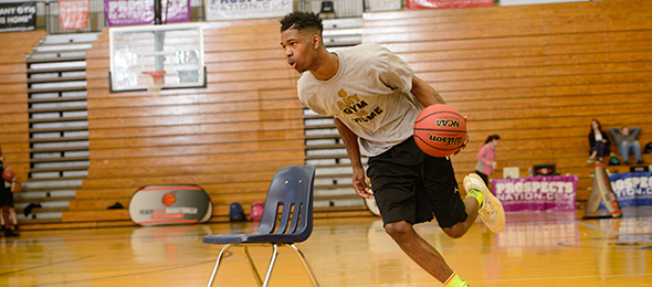 Class of 2017 Monaire McCartney of Alpharetta, Ga., has a world of promise. Photo cred - Ty Freeman/#EBATop40