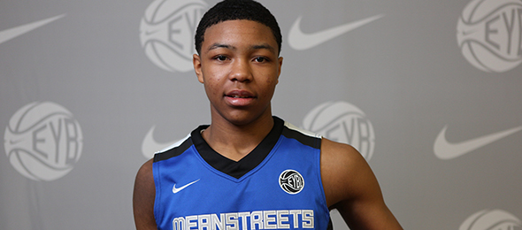 Class of 2017 guard Nojel Eastern of Evanston, Ill., is one of the top recruits in the Midwest. Photo cred - Jon Lopez/Nike