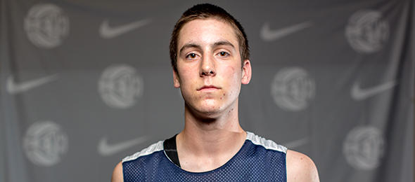 Class of 2017 guard Connor McCaffery of Iowa City, Iowa, is a sharp-shooter. His #BCSReport Player Card is here. Photo cred - Jon Lopez/Nike