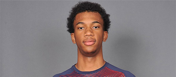 Marvin Bagley III of Ariz., is the top prospect in the class of 2018. More on his game on his #BCSReport Player Card. Photo cred - USA Basketball