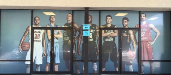 Nike EYBL Front Door