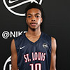 Atlanta, GA - MAY 27: Nike EYBL. Session 4. Darius Garland #10 of The St. Louis Eagles (Photo by Jon Lopez)