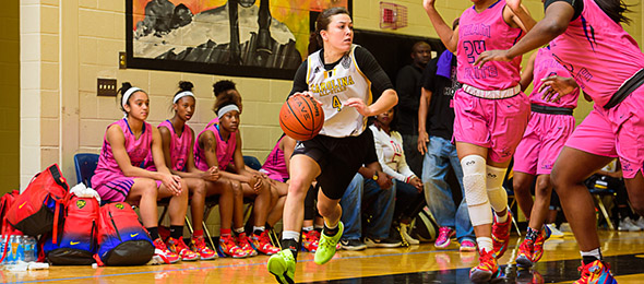 Class of 2017 point guard Kelly Fitzgerald of Apex, N.C., has one of the purest jump shots in the game. Photo cred - Ty Freeman/PSB