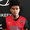 Atlanta, GA - SUNDAY, MAY 29: Nike EYBL. Remy Martin #1 of Phoenix Family Session 4. (Photo by Jon Lopez)