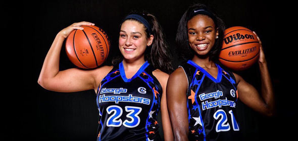 #PSBFamily Member the GA Hoopstars are locked in for #PSBElite32 Session I & II Photo Credit: Ty Freeman