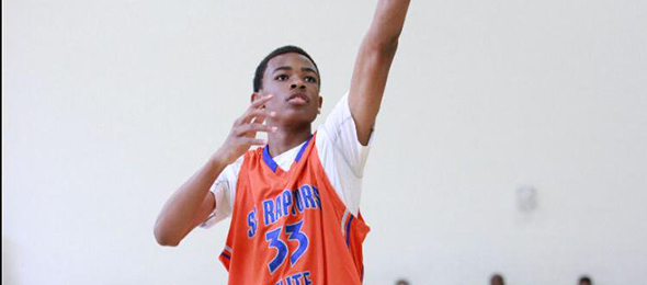 Class of 2017 forward Nicholas Claxton of Columbia, S.C., shot up the recruiting ranks this year. Read why on his #BCSReport Player Card.
