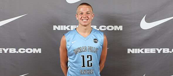 Class of 2017 guard Brad Davison of Maple Grove, Minn., was one of the most skilled and productive guards on the EYBL circuit. He is a Wisconsin commit. Photo cred - Jon Lopez/Nike