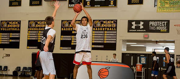 Class of 2017 guard Elijah Jenkins is a sharp shooter. Photo cred - Ty Freeman/#EBAAllAmerican