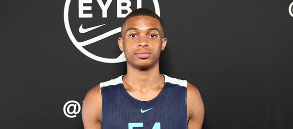Class of 2018 guard Keldon Johnson of Sterling, Va., is among the nation's best at the position. (Photo by Jon Lopez)