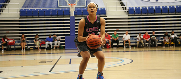 Marquette commit Selena Lott played in front of hundreds of coaches at #PSBElite32