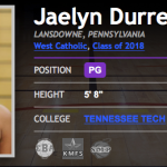 BrandonClayScouting: #SMPMember College Recruiting News – Durrett picks Tennessee Tech – March 7, 2018