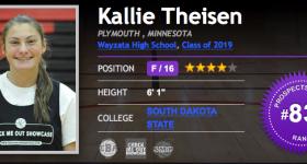BrandonClayScouting: Kallie Theisen to South Dakota State – June 1, 2018