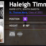 #BrandonClayTV: Haleigh Timmer – SMP College Recruiting Exposure Member